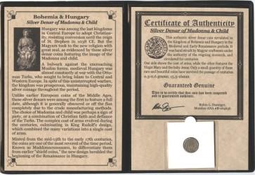 Madonna and Child Silver Coin Album (C)