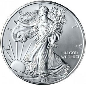 American Silver Eagle 1 oz Coin - 10 Round Minimum (Random Dates)