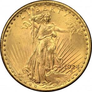 $20 Saint-Gaudens Double Eagle (BU)