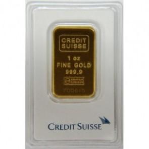 Credit Suisse - 1 oz Gold Bar