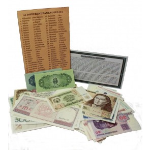 50 different banknotes (U)