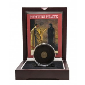Pontius Pilate: Bronze Coin Box